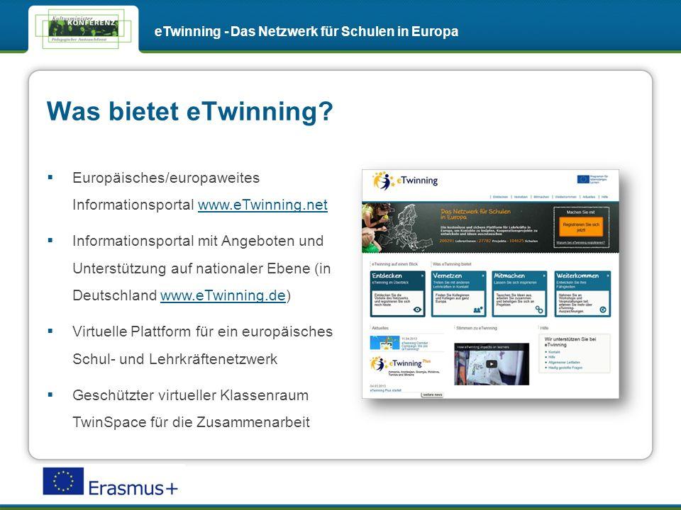 Was bietet eTwinning.
