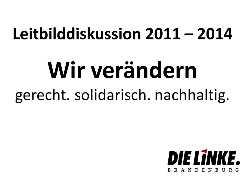 Leitbilddebatte 2006 – 2008 Ein Rückblick