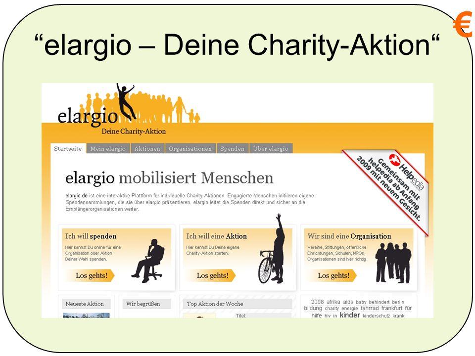 elargio – Deine Charity-Aktion