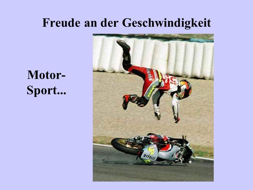 Freude an der Geschwindigkeit Motor- Sport...