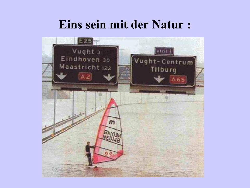 Eins sein mit der Natur :