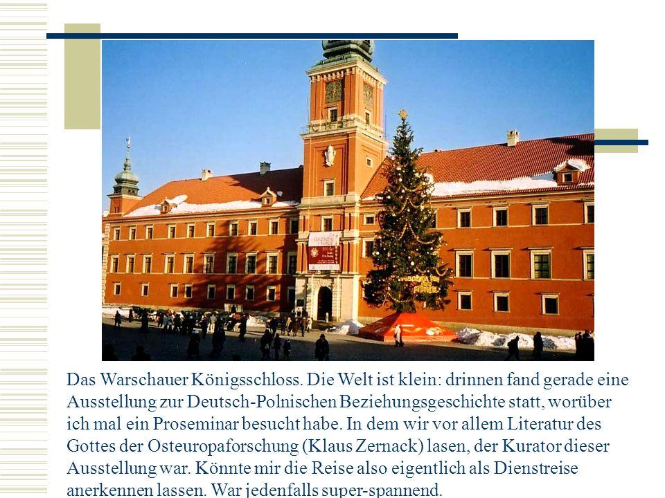 Das Warschauer Königsschloss.