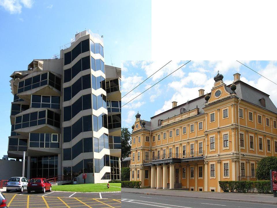 Eine moderne Stadt: Hamonie des Alten und des Neuen