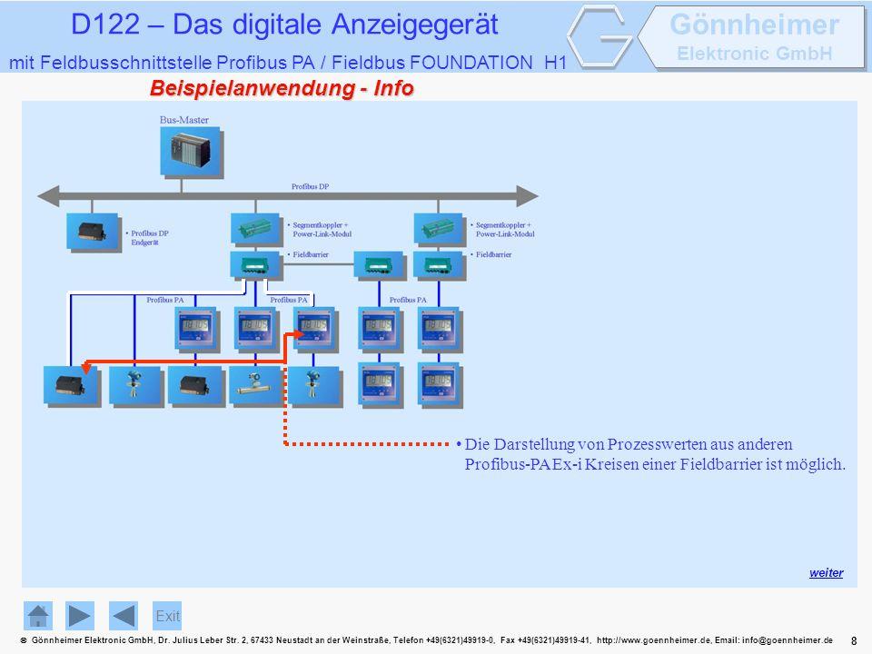8 Gönnheimer Elektronic GmbH, Dr. Julius Leber Str.