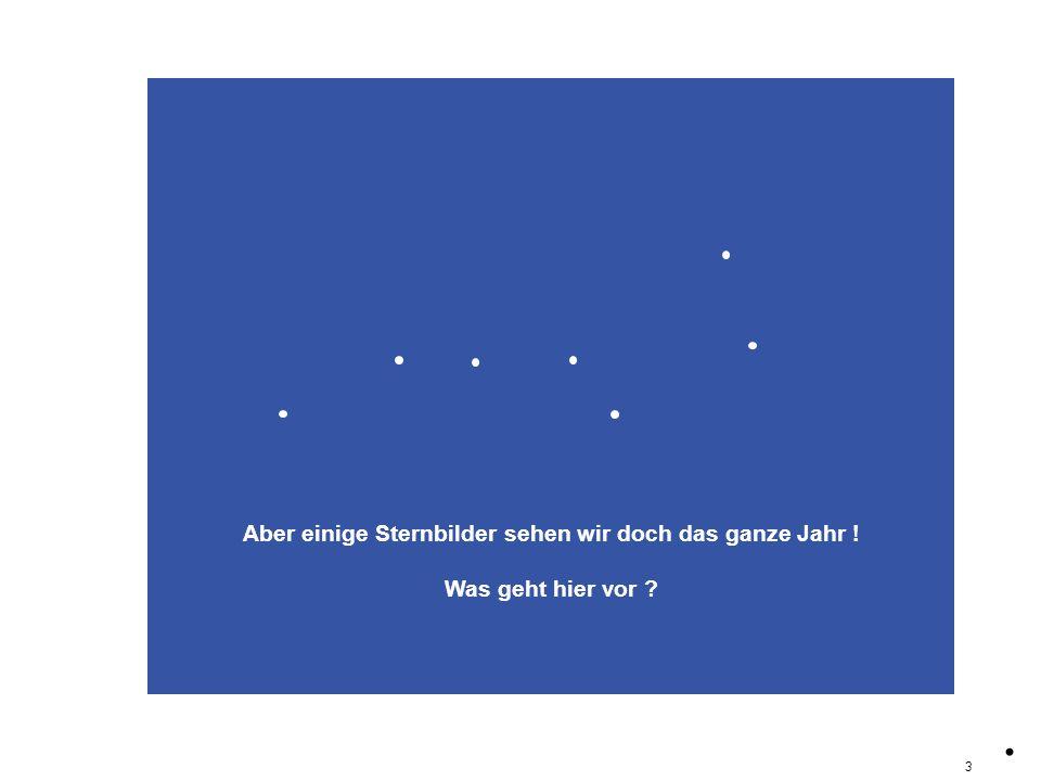 titelZirk Aber einige Sternbilder sehen wir doch das ganze Jahr ! Was geht hier vor ?. 3