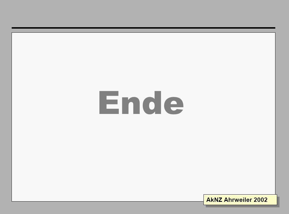Folie 19 AkNZ Ahrweiler 2002 Lagemeldung -Ausschnitt- Römerstrasse TEL 4 6 8 5 7 9 X X 9 14 25 5 4 2 5 3 6