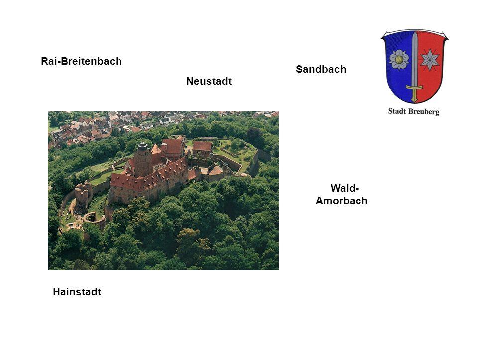 Wald- Amorbach Rai-Breitenbach Sandbach Hainstadt Neustadt