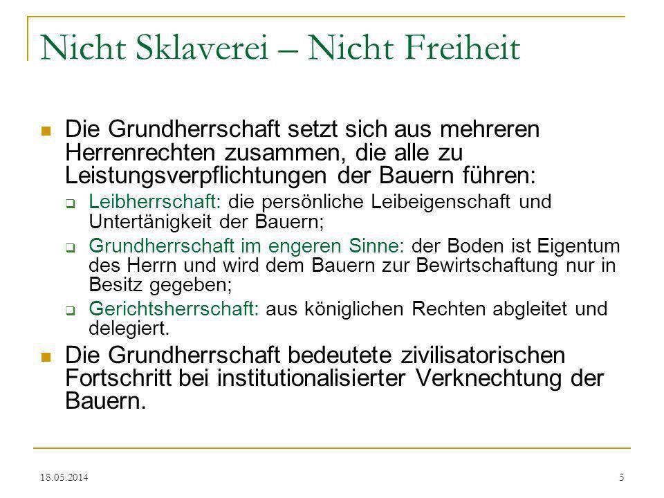 18.05.201426 Zins statt Fron Zinszahlung.