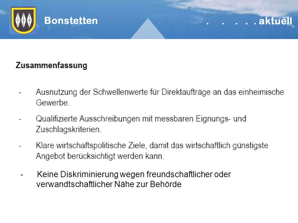 Bonstetten.....
