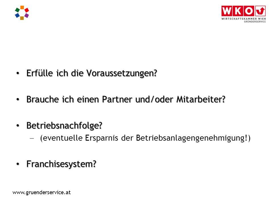 www.gruenderservice.at Rechtsformen Einzelunternehmen e.U.