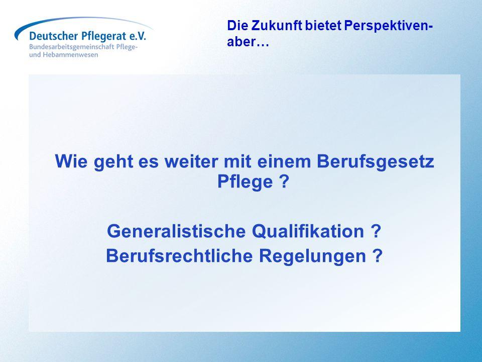 Ergebnisse Wir haben erreicht… Die Abschaffung bürokratischer Hemmnisse und künstlicher Trennlinien zwischen den Versorgungsstrukturen vor allem SGB V und SGB XI