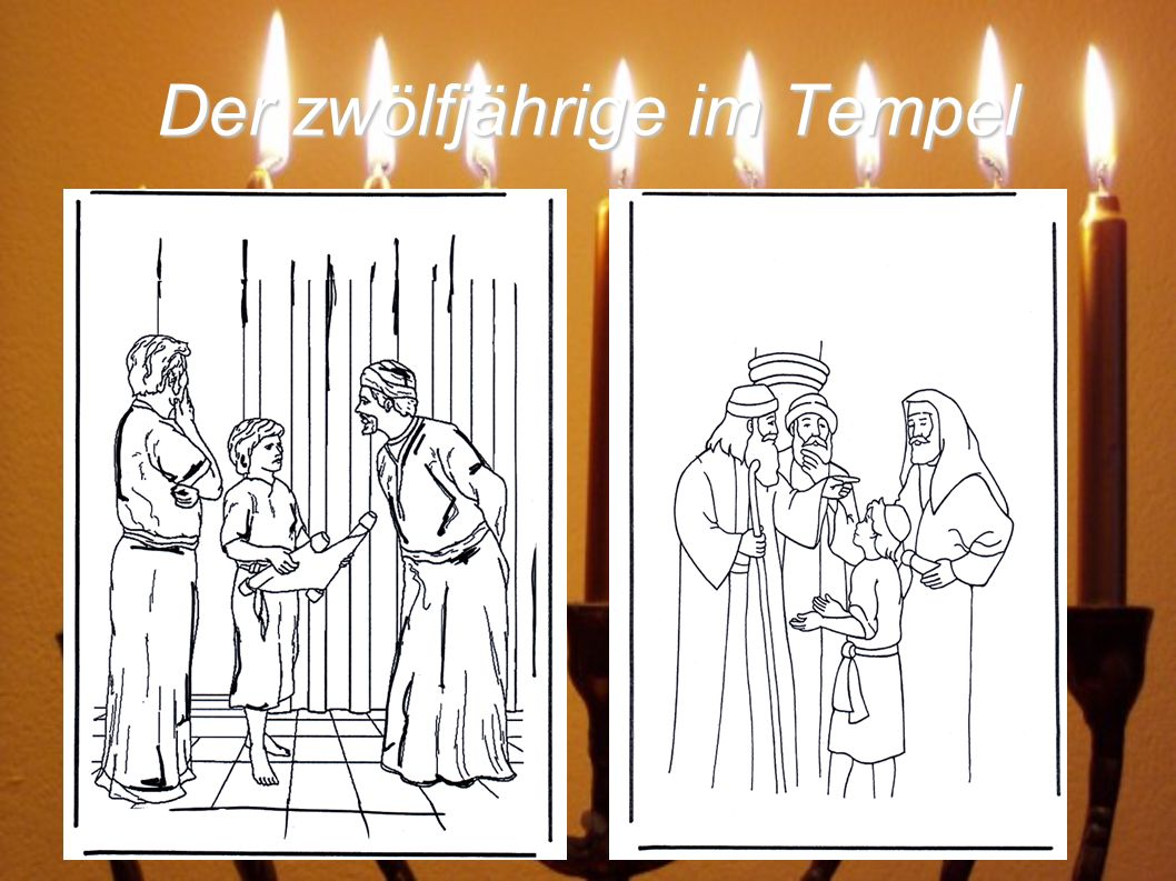 Die Erzählung ist im Evangelium von Lukas, im zweite Kapitel (41-52 Vers)