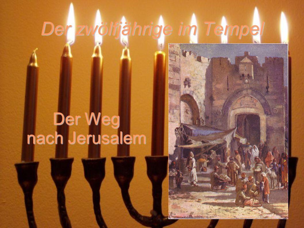 Der zwölfjährige im Tempel Das Ostern waren in diesem Zeit die Erinnerung auf die Befreiung aus ägypten Sklaverei.