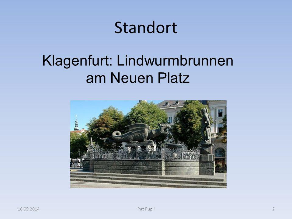 Der Lindwurm in Klagenfurt Inhalt der Sage: In der Nähe des Wörthersees bedroht ein Lindwurm Mensch und Tier.