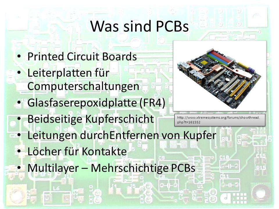 Was sind PCBs Printed Circuit Boards Leiterplatten für Computerschaltungen Glasfaserepoxidplatte (FR4) Beidseitige Kupferschicht Leitungen durchEntfer