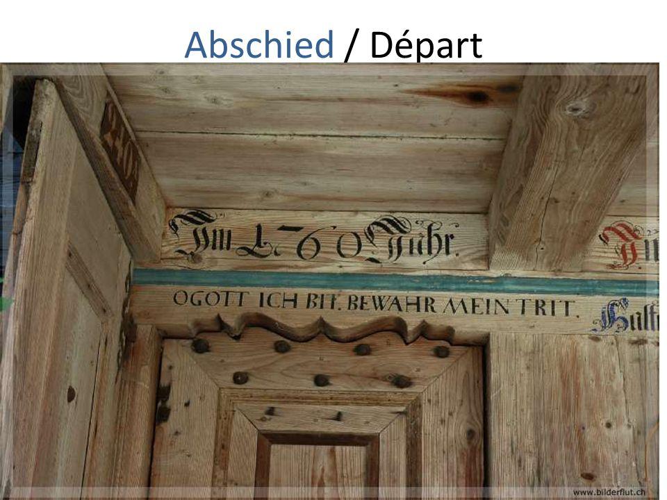 Abschied / Départ 20