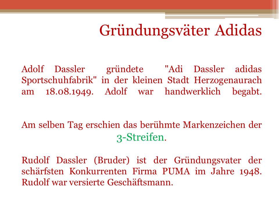 Adolf Dassler gründete