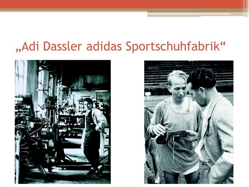Adi Dassler adidas Sportschuhfabrik