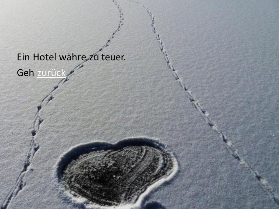Der Schirmflicker zieht weiter,… a)…zu seiner Freundin in Hinterau…zu seiner Freundin in Hinterau b)…stolpert und bleibt im Schnee liegen…stolpert und bleibt im Schnee liegen