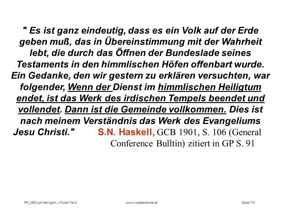 Seite 170PP_M50.ppt Heiligtum – Folien Teil 2www.hopeandmore.at