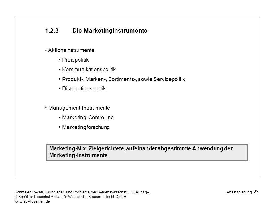 23 Schmalen/Pechtl, Grundlagen und Probleme der Betriebswirtschaft, 13.