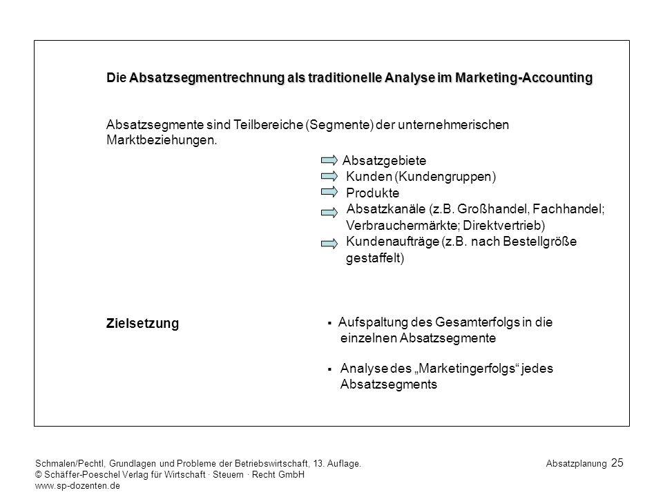 25 Schmalen/Pechtl, Grundlagen und Probleme der Betriebswirtschaft, 13.