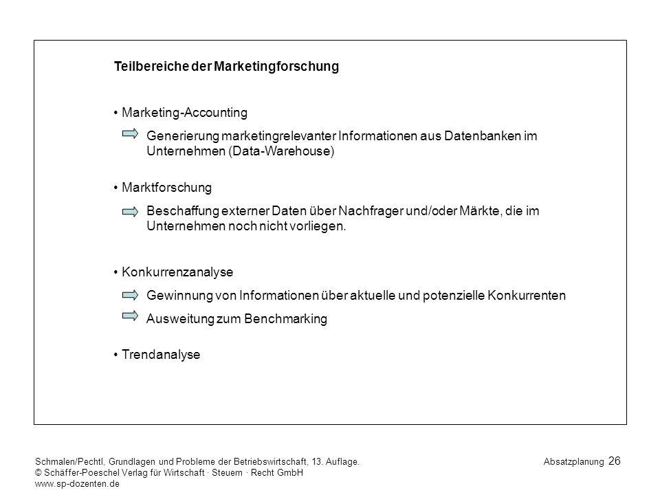 26 Schmalen/Pechtl, Grundlagen und Probleme der Betriebswirtschaft, 13.