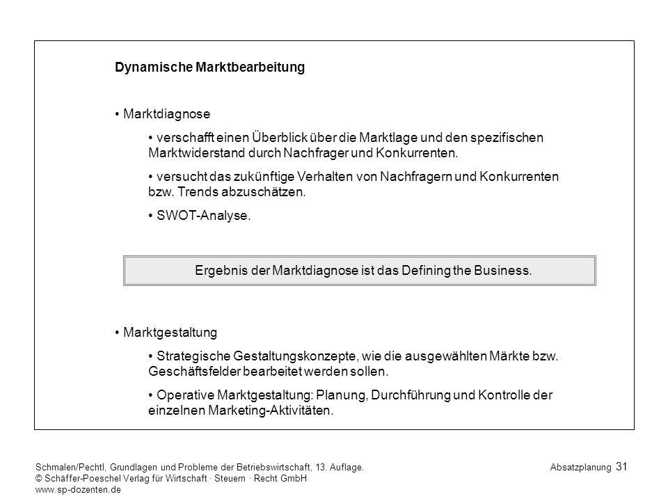 31 Schmalen/Pechtl, Grundlagen und Probleme der Betriebswirtschaft, 13.
