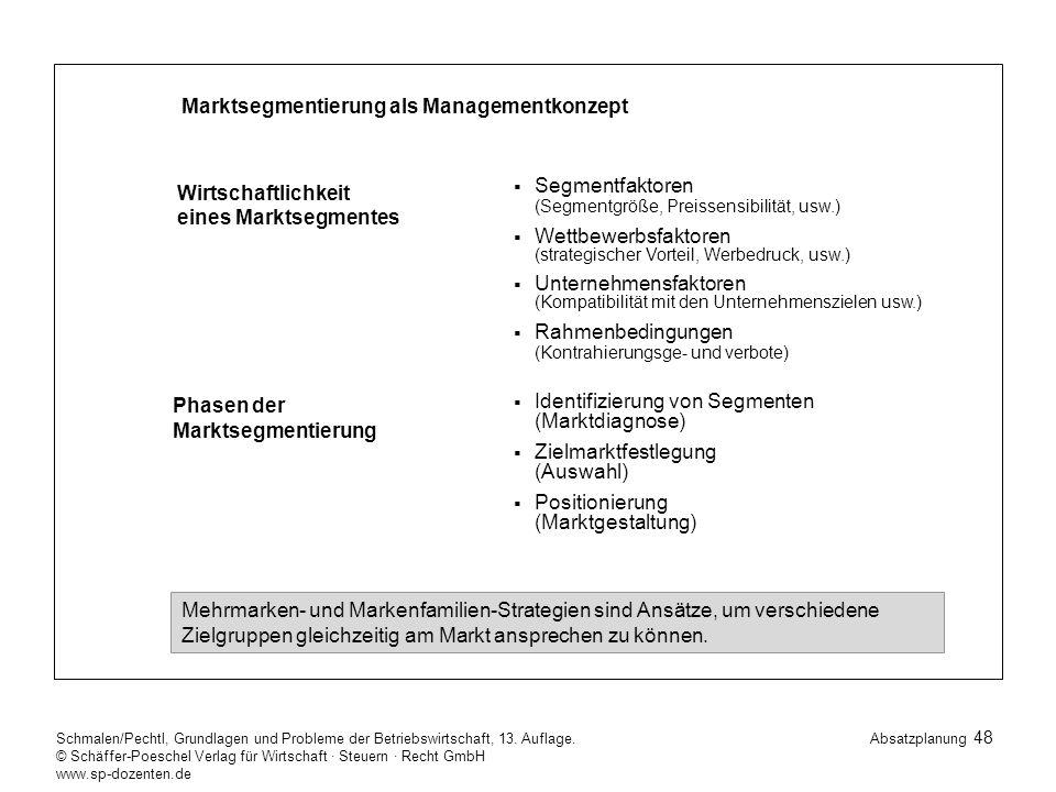 48 Schmalen/Pechtl, Grundlagen und Probleme der Betriebswirtschaft, 13.