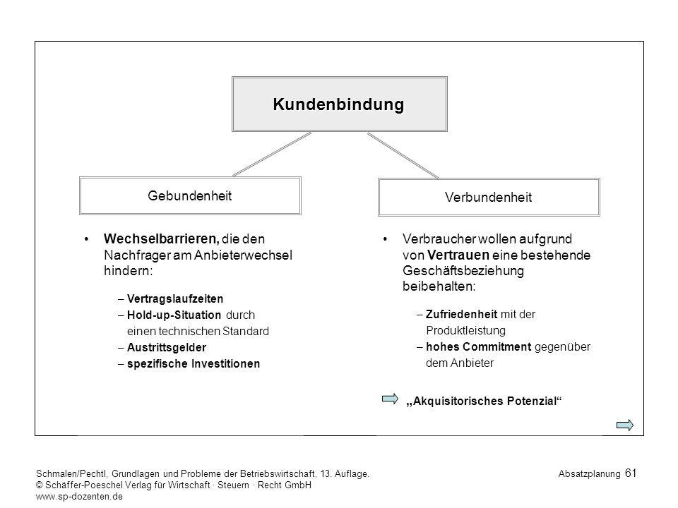 61 Schmalen/Pechtl, Grundlagen und Probleme der Betriebswirtschaft, 13.