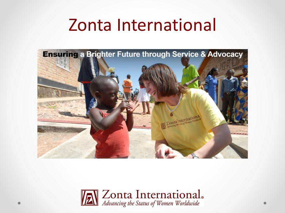 Zonta International Ziele Zonta International Projekte Zonta International Organisation Union deutscher Zonta Clubs Zonta Club Bad Soden-Kronberg Agenda