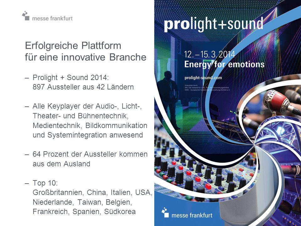 Prolight + Sound: Fokus auf Eventmanagement und Superthema Eventsicherheit Eventplaza 12.-15.