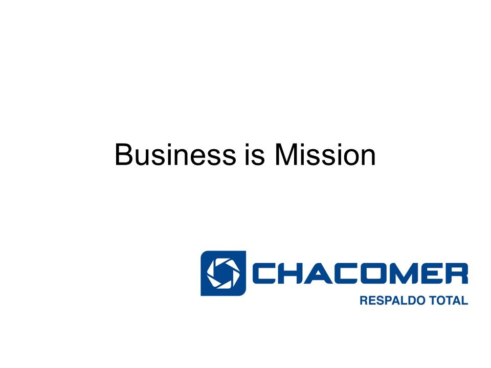 Business is Mission