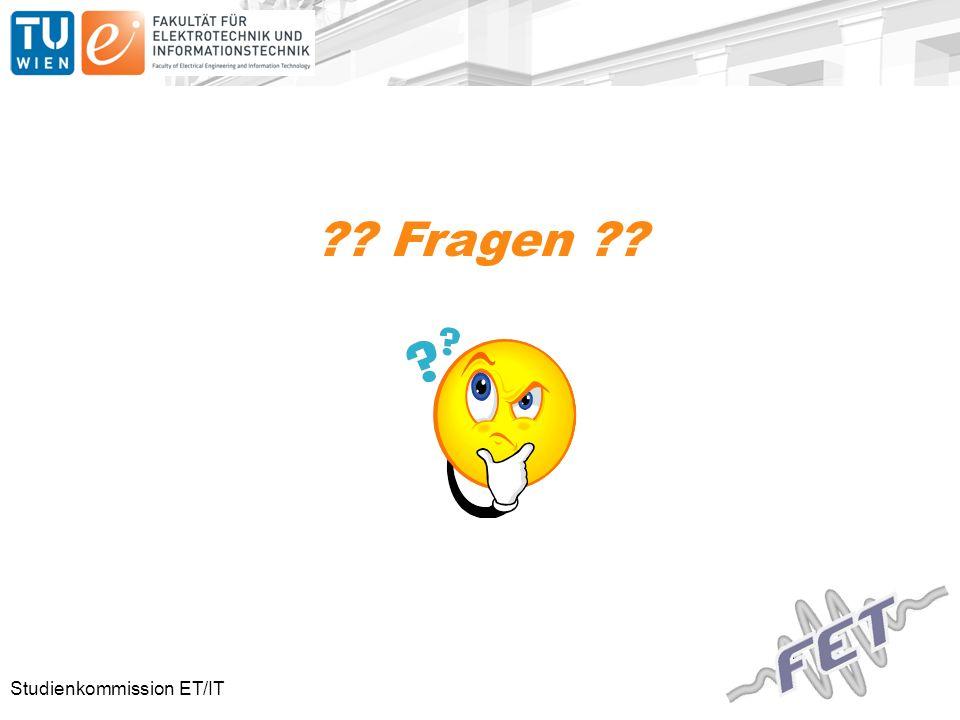 Studienkommission ET/IT Fragen