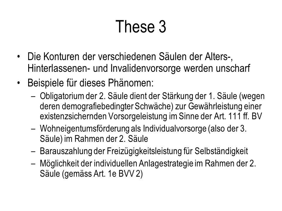 These 3 Die Konturen der verschiedenen Säulen der Alters-, Hinterlassenen- und Invalidenvorsorge werden unscharf Beispiele für dieses Phänomen: –Obligatorium der 2.