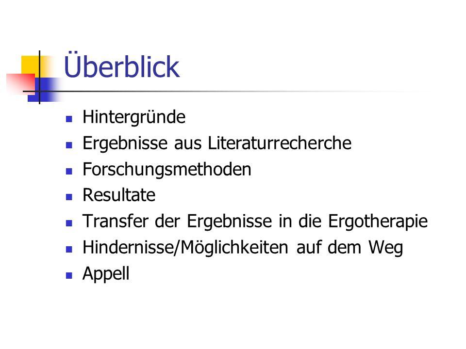 TATSACHEN 24.000 Schlaganfälle jährlich in Österreich (http://www.schlaganfall- info.at/info/fakten.html) 2/3 von österreichischen Schlaganfallpatienten haben Einschränkungenim Bereich Aktivitäten des täglichen Lebens (www.tirol.gv.at)