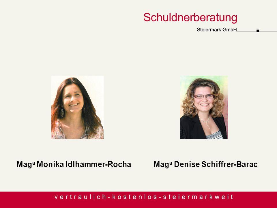 MitarbeiterInnen Mag a Monika Idlhammer-Rocha Mag a Denise Schiffrer-Barac