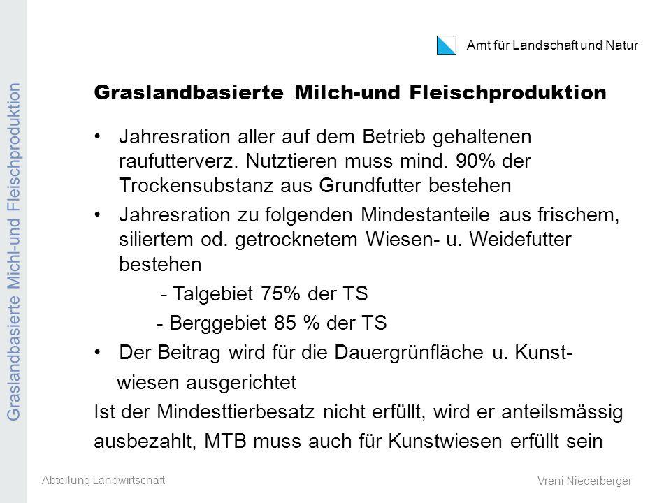 Kanton Zürich Amt für Landschaft und Natur Extensive Produktion Ackerbaustellenleiter-Tagung 8.
