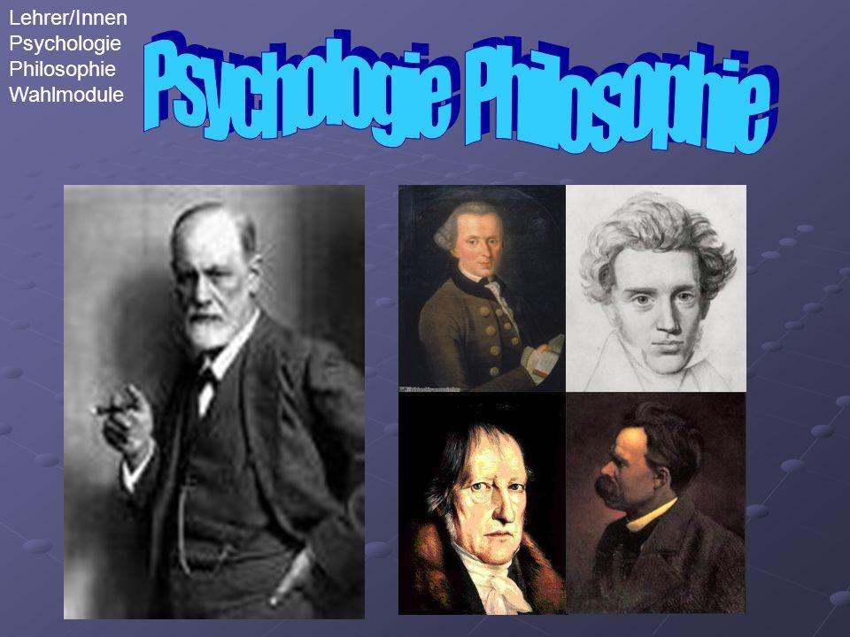 Lehrer/Innen Psychologie Philosophie Wahlmodule