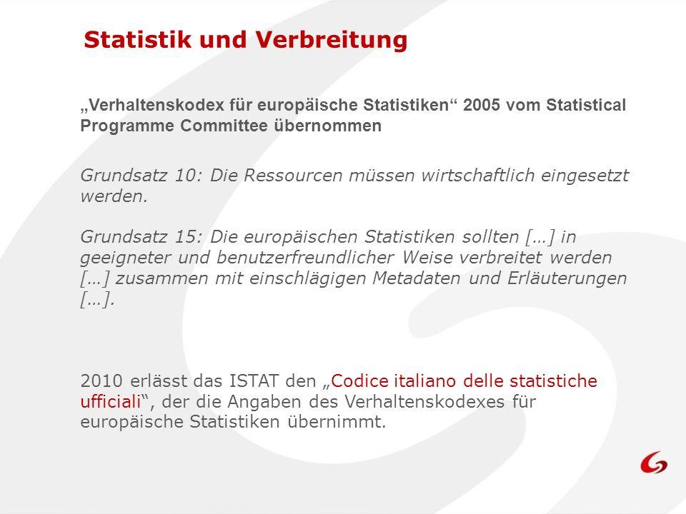 Das Istat gibt an interne und externe Subjekte des Gesamtstaatlichen Statistiksystems (Sistan) verschiedene Arten von Dateien mit Mikrodaten ab:Mikrodaten 1) Standarddatei 2) Datei mIcro.Stat 3) Datei für die Forschung 4) Datei für das Sistan Instrumente der Verbreitung – die Mikrodaten