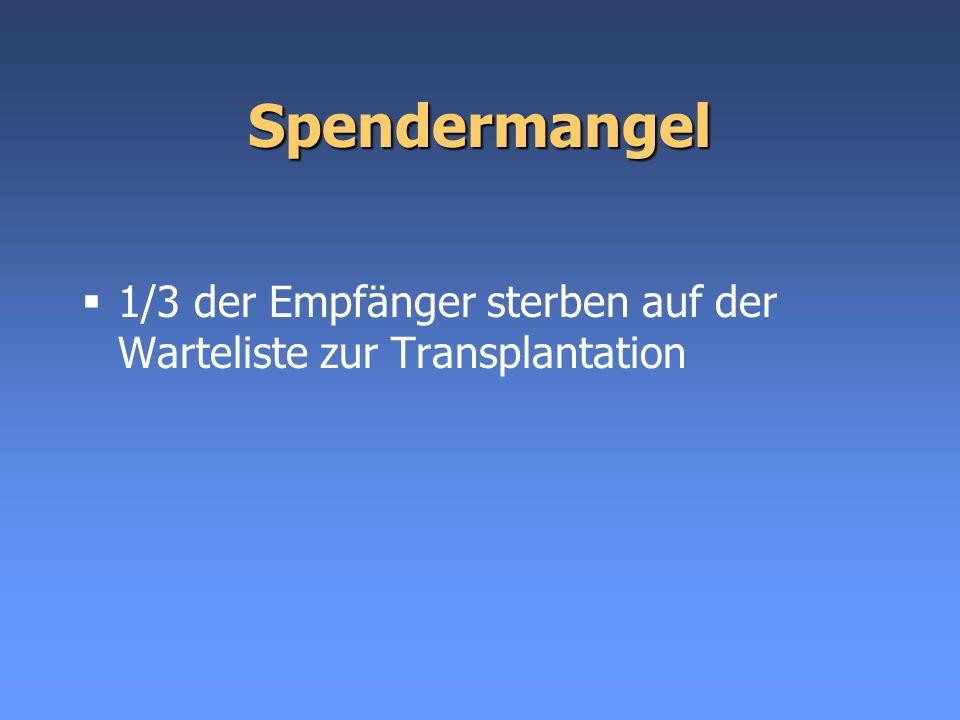 Ausserhalb des LKH Graz Entscheidung, ob Spendersorge und Explantation im Haus durchgeführt werden kann.
