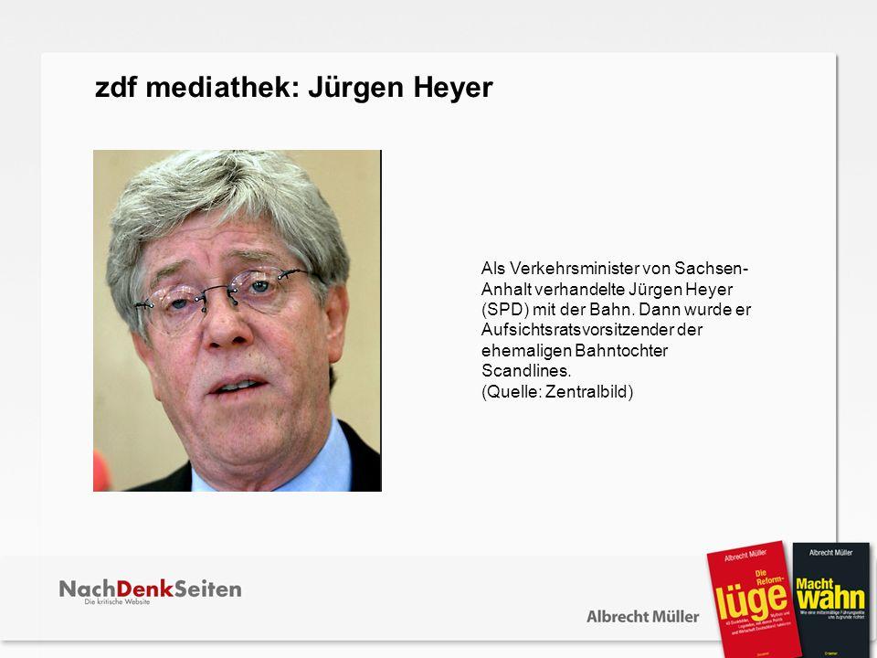 Als Verkehrsminister von Sachsen- Anhalt verhandelte Jürgen Heyer (SPD) mit der Bahn. Dann wurde er Aufsichtsratsvorsitzender der ehemaligen Bahntocht