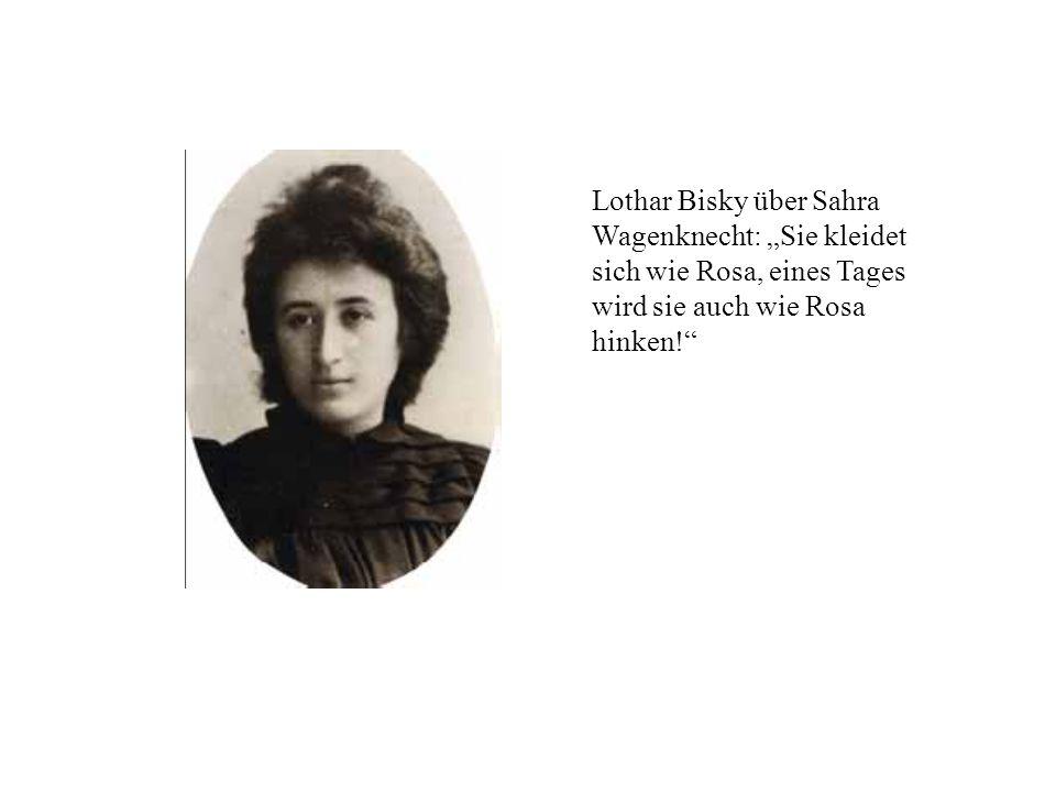 Lothar Bisky über Sahra Wagenknecht: Sie kleidet sich wie Rosa, eines Tages wird sie auch wie Rosa hinken!