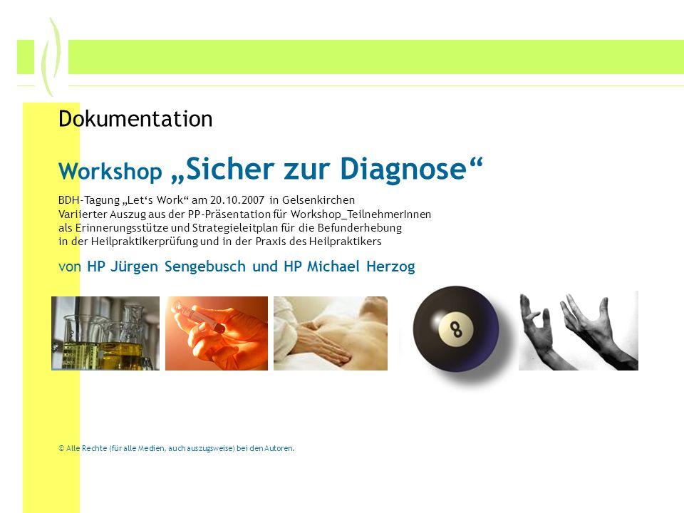 Sicher zur Diagnose Sengebusch / Herzog Hufeland-Schule Senden Sie müssen die Diagnose nicht aus der Tasche ziehen.