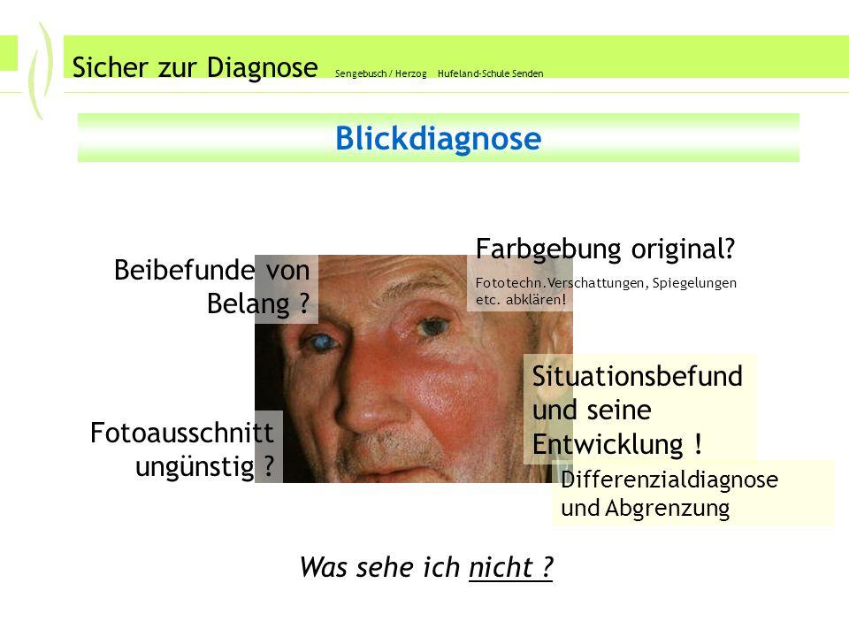 Abschlusstechnik 1 Sicher zur Diagnose Sengebusch / Herzog Hufeland-Schule Senden Abschlusstechnik 1 Schließen Sie die Befundung gezielt und resümierend ab, z.B.