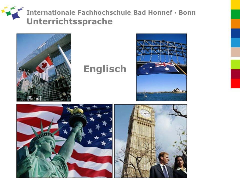 Internationale Fachhochschule Bad Honnef · Bonn Unterrichtssprache Englisch