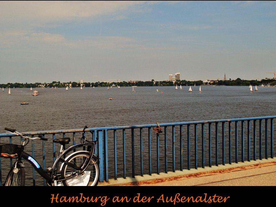 Hafenlandschaft in Hamburg