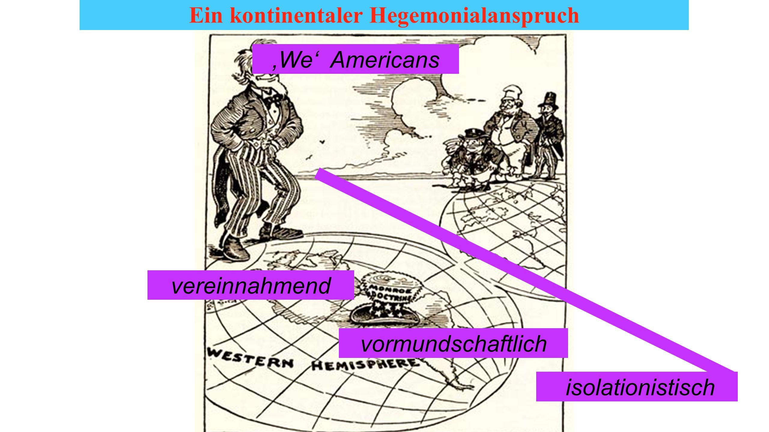 1898-1912 Eine neue Imperialmacht imperialistisch interventionistisch http://third-world-news.blogspot.ch/2009_10_25_archive.ht ml