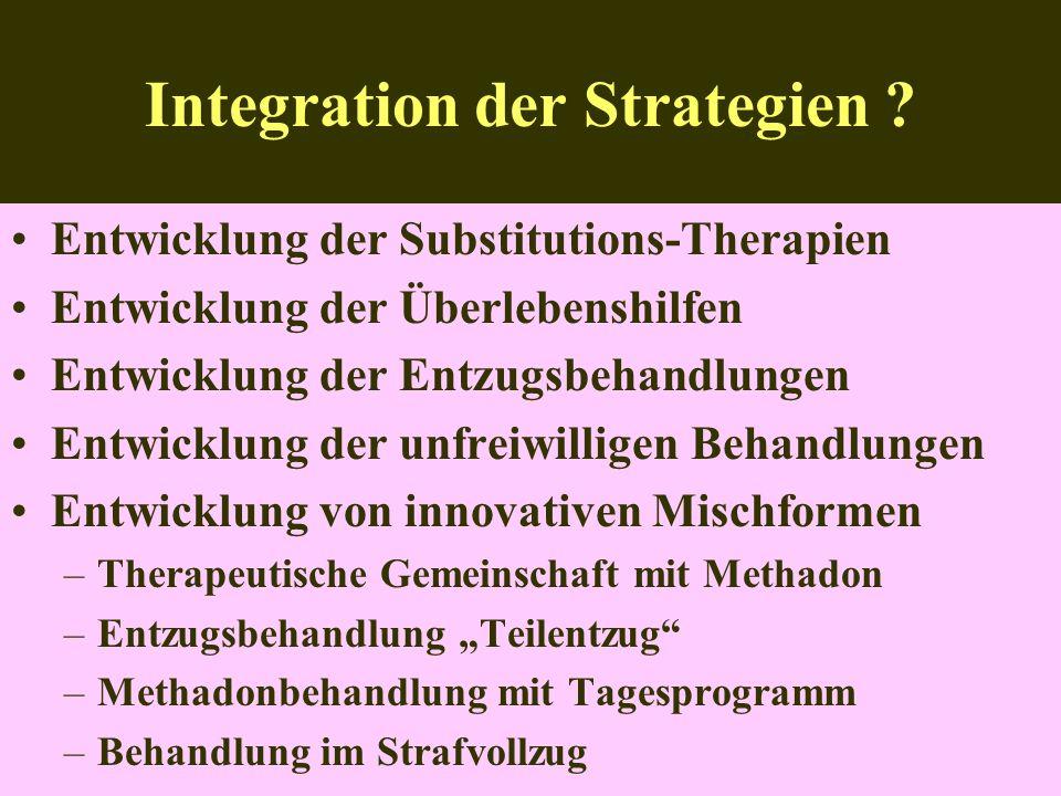 Integration der Strategien .