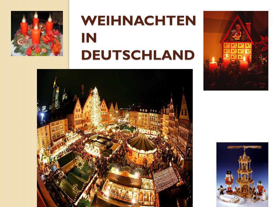 Wir haben auch die Weihnachtskarten geschrieben.